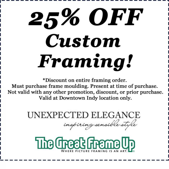 unexpected elegance coupon
